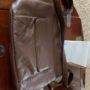 Stone Mountain brown crossbody purse